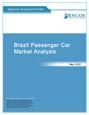 Brazil Passenger Car Market Analysis Research Report