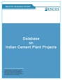 Database on Indian Cement Plant Projects Research Report