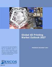 Global 4D Printing Market Outlook 2027 Research Report