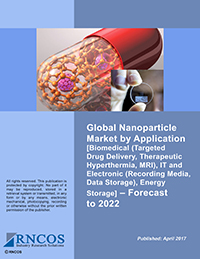 Global Magnetic Nanoparticle Market by Application [Biomedical (Targeted Drug Delivery, Therapeutic Hyperthermia, MRI), IT and Electronic (Recording Media, Data Storage), Energy Storage] – Forecast to 2022 Research Report