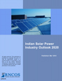 Indian Solar Power Industry Outlook 2020 Research Report