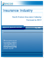 South Korean Insurance Industry Forecast to 2012