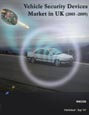 Vehicle Security Devices Market in UK (2005 -2009) Research Report